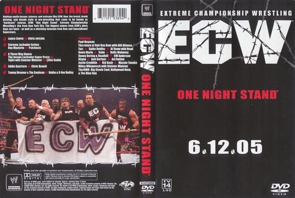 These Are The Thoughts From My Head: Stick or Twist: ECW One